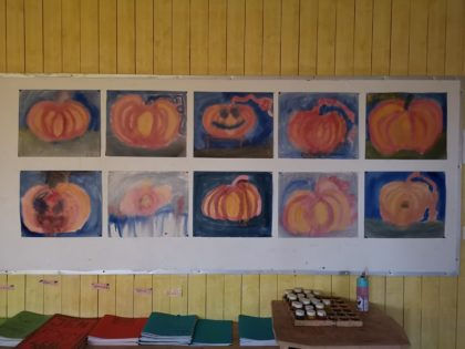 Gresskarmalerier til Halloween