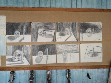 Tegninger fra 7.klasse