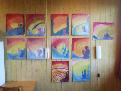 Fargerike malerier