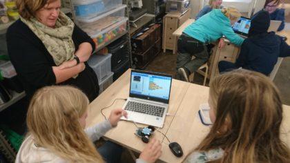 5-7.klasse på kodebesøk til vitenparken